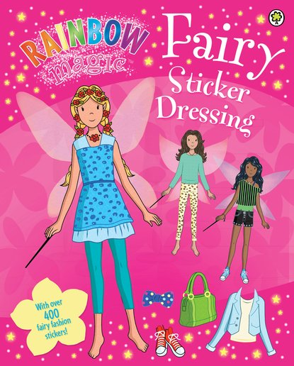 Royal Wedding Sticker Dress Up : Rainbow magic fairy sticker dressing scholastic kids club