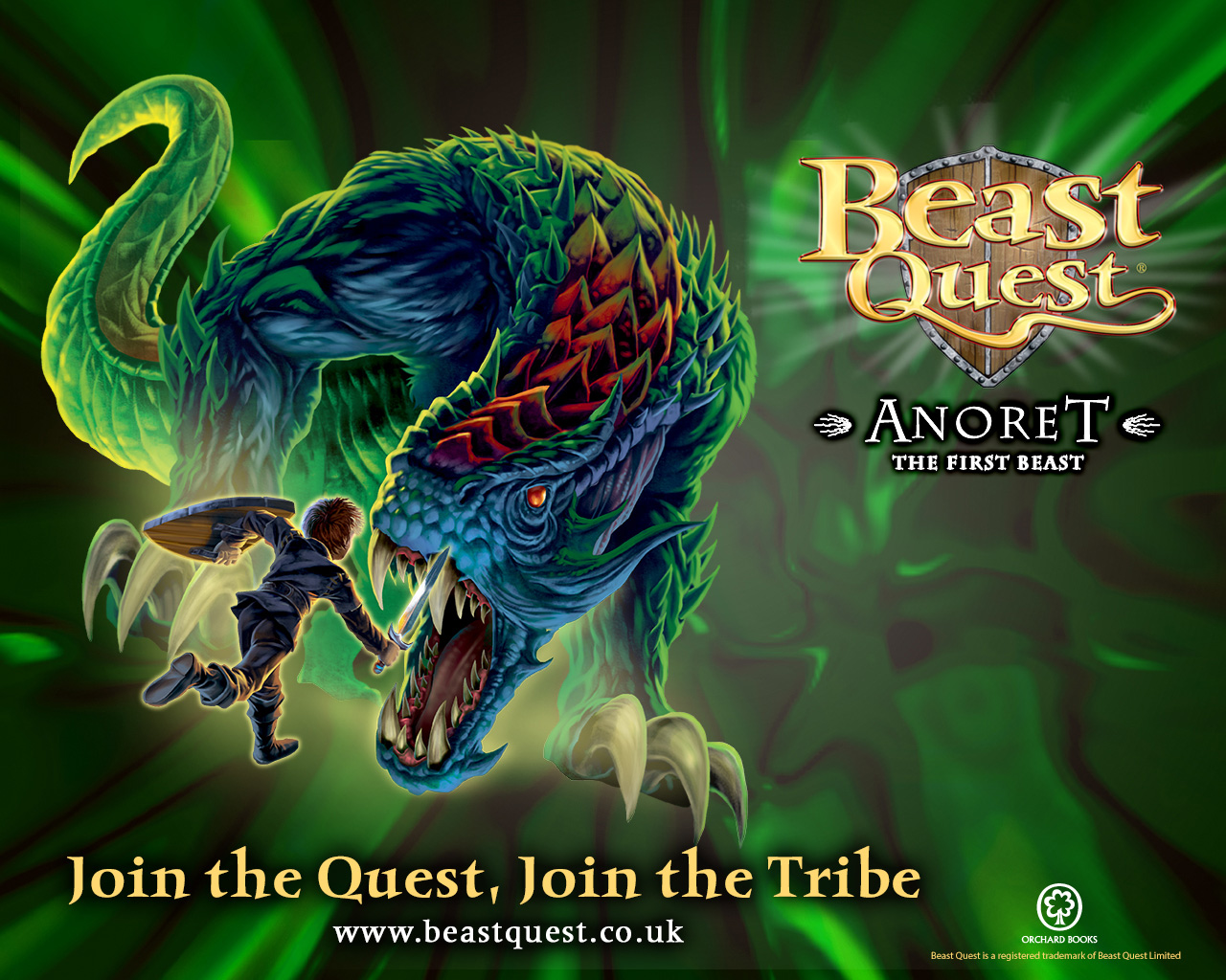 Beast Quest Anoret the First Beast wallpaper  Scholastic Book Club