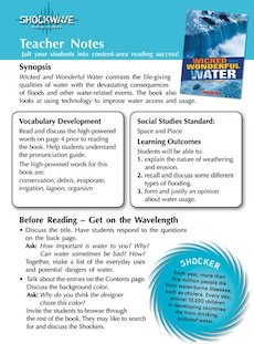 Wicked and Wonderful Water Teacher&#x27;s notes and 3 fact files
