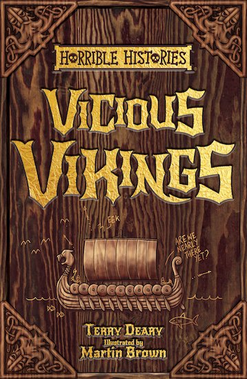Vicious Vikings - Terry Deary