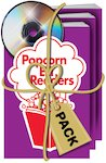 Popcorn Readers: Level 1 Book + Audio CD Pack