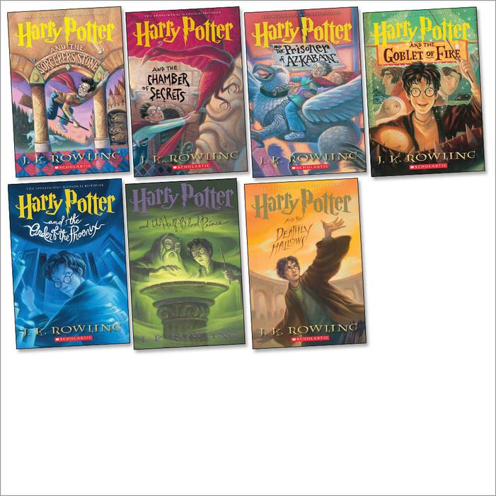 Harry Potter Book Quizzes Scholastic : Harry potter box set scholastic book club