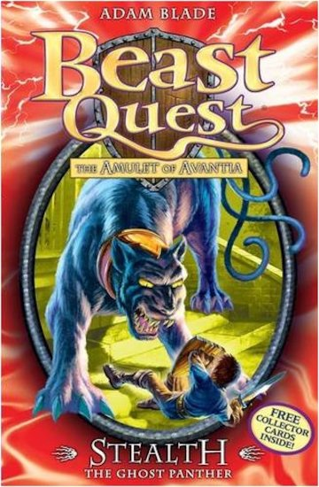 Beast quest series 4 24 stealth the ghost panther scholastic kids