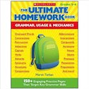 The Ultimate Homework Book: Grammar, Usage and Mechanics