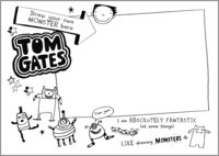 Tom Gates activity sheet