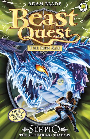 Beast quest series 11 65 serpio the slithering shadow scholastic