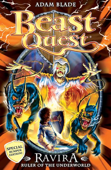 Beast quest special 7 ravira ruler of the underworld scholastic