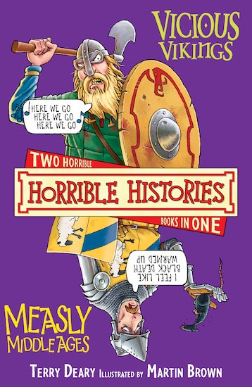 Vicious Vikings AND Measly Middle Ages - Terry Deary