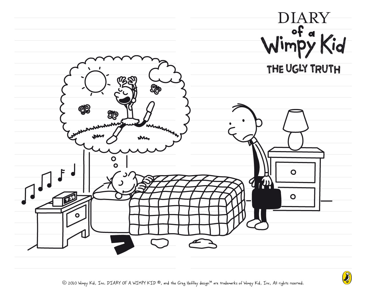 Wimpy Kid Wallpaper
