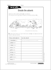 Create the adverb from Grammar &amp; Punctuation Year 4
