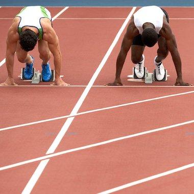 Olympic sprinters