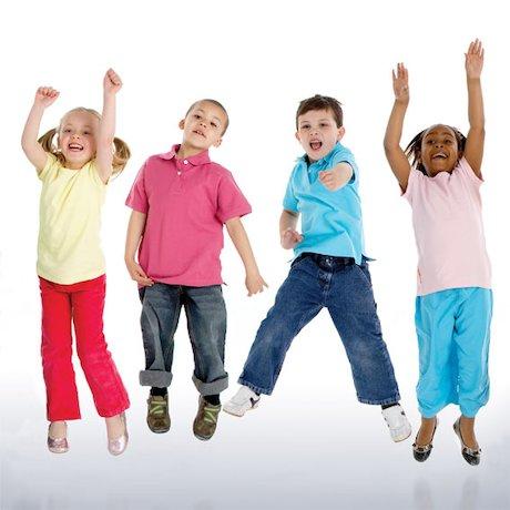 Children celebrating
