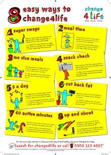 8 easy ways to change4life
