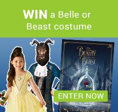 WIN a Belle or Beast costume