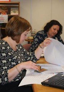 Scholastic Business School - Nicola Dixon judging