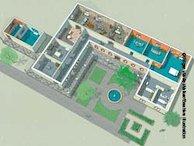 Roman villa - illustration