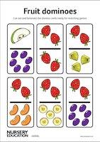 Fruit dominoes resource