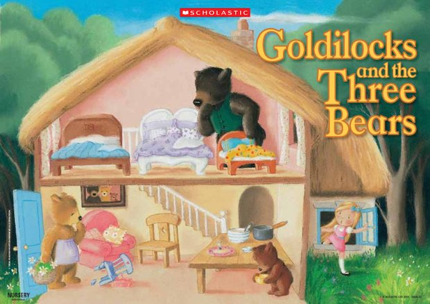 Goldilocks and the Three Bears - poster