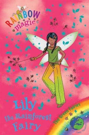 rainbow magic green fairies 82 lily the rainforest fairy scholastic kids 39 club. Black Bedroom Furniture Sets. Home Design Ideas