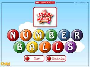 'Number balls'