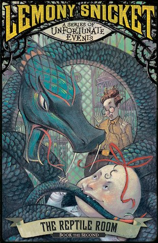 A Series Of Unfortunate Events Books The Reptile Room