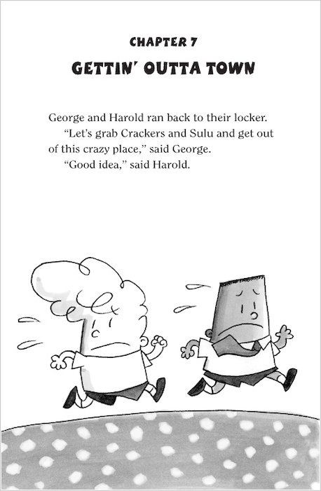 Captain Underpants George And Harold Coloring Pages