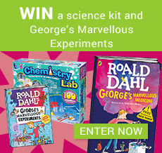 WIN a science kit and George's Marvellous Experiments