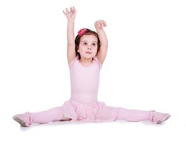 Child stretching