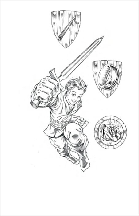 Colouring Pages Beast Quest : Beast quest series murk the swamp man scholastic