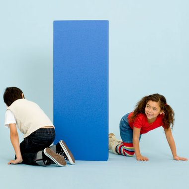 Children and rectangle