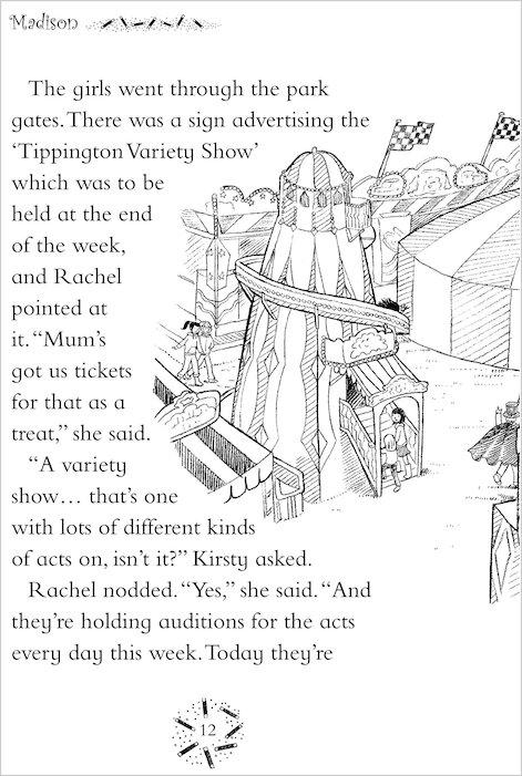 rainbow magic showtime fairies 99 madison the magic show fairy scholastic shop. Black Bedroom Furniture Sets. Home Design Ideas