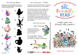 The Big Friendly Read family leaflet