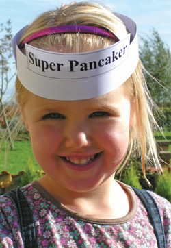 Child Education January -  Pancake Day
