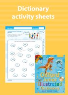 Oxford Junior Illustrated Dictionary activity sheet