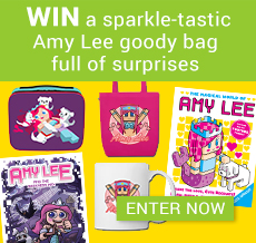 WIN a sparkle-tastic Amy Lee goody bag full of surprises