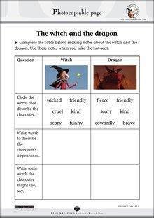 Room on the Broom - The witch and the dragon