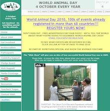 World Animal Day website