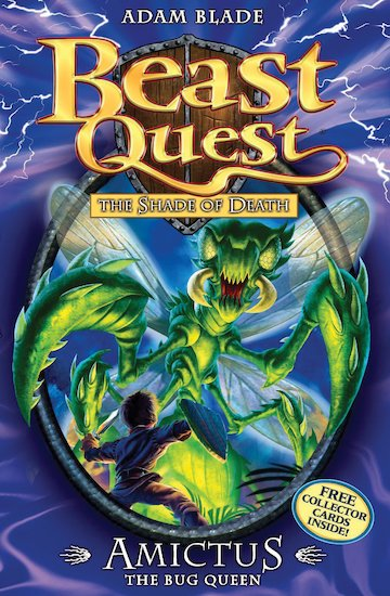 Beast quest series 5 30 amictus the bug queen tom s quest to free the