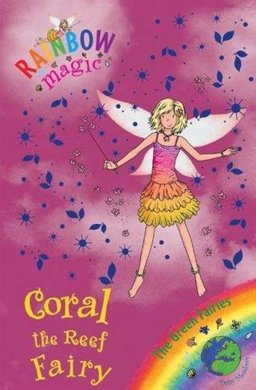 rainbow magic green fairies 81 coral the reef fairy scholastic kids 39 club. Black Bedroom Furniture Sets. Home Design Ideas