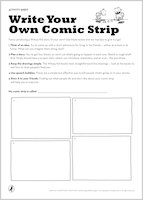 Write your own Wimpy Kid Comic Strip