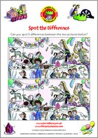Horrid Henry Spot the Difference Puzzle Activity