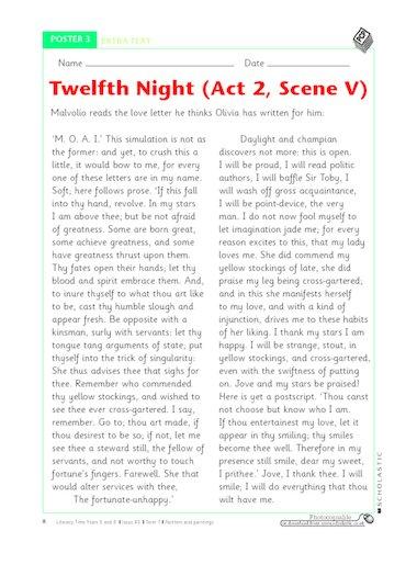 Act 3 Scene 4 of Twelfth Night Essay