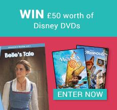 WIN £50 worth of Disney DVDs
