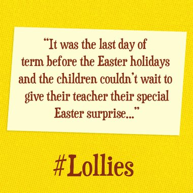 Help us write a short story to celebrate the Easter holidays