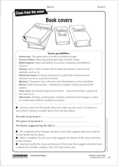 Free reading comprehension worksheets for year 5