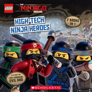 The LEGO® Ninjago Movie: 9x9 Flipbook