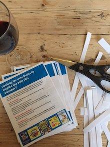 Making the leaflets