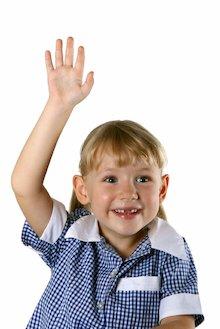 Child with hands up © pamspix/istockphoto.com