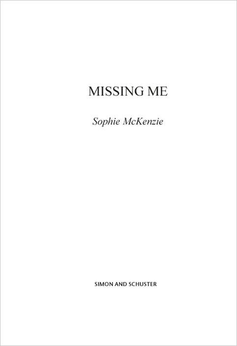 missing me sophie mckenzie pdf