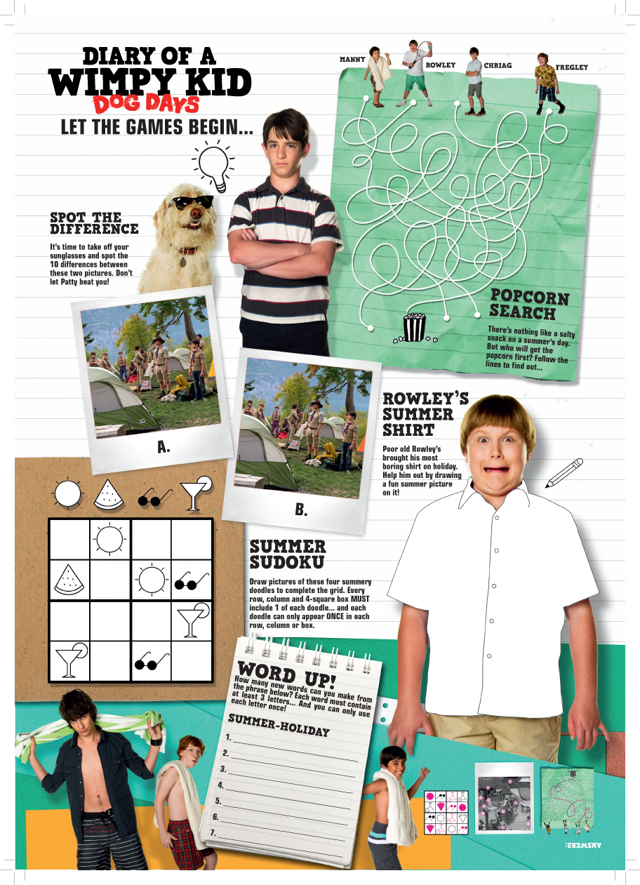 Diary Of A Wimpy Kid Dog Days Book Free Download